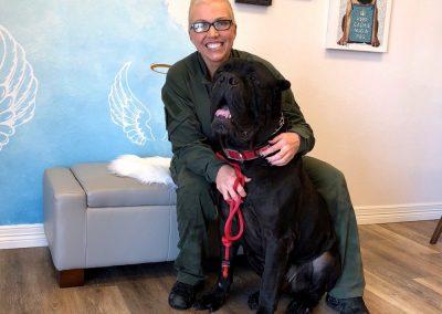 Angelic Pet Services Big Dog Client